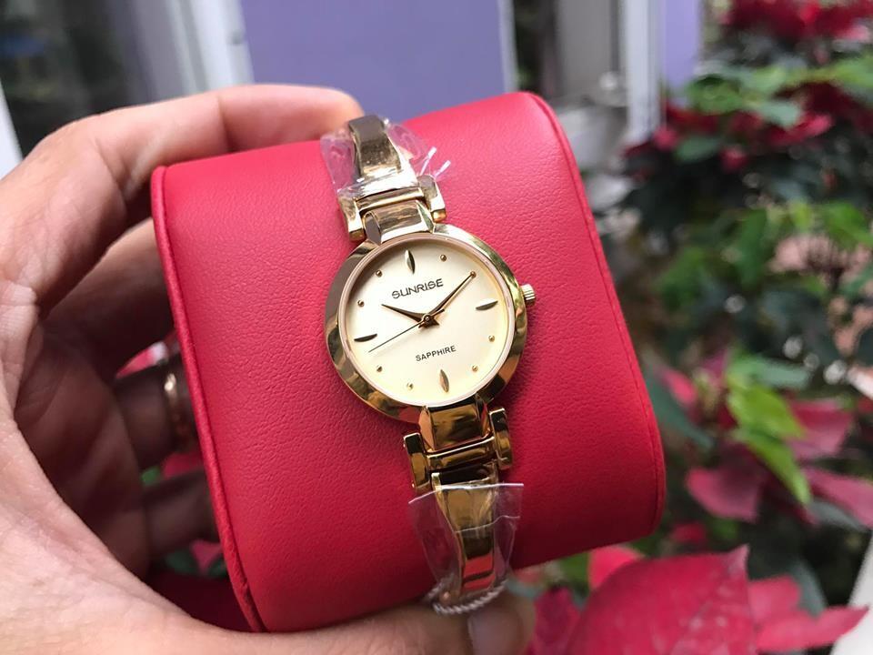 Đồng hồ lắc nữ sunrise sl719swa - kv chính hãng