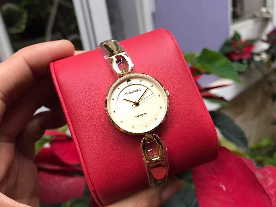 Đồng hồ lắc nữ sunrise sl723swa - kv chính hãng