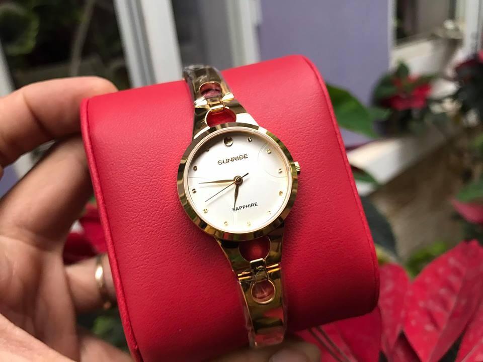 đồng hồ lắc nữ sunrise sl725swa - kt chính hãng
