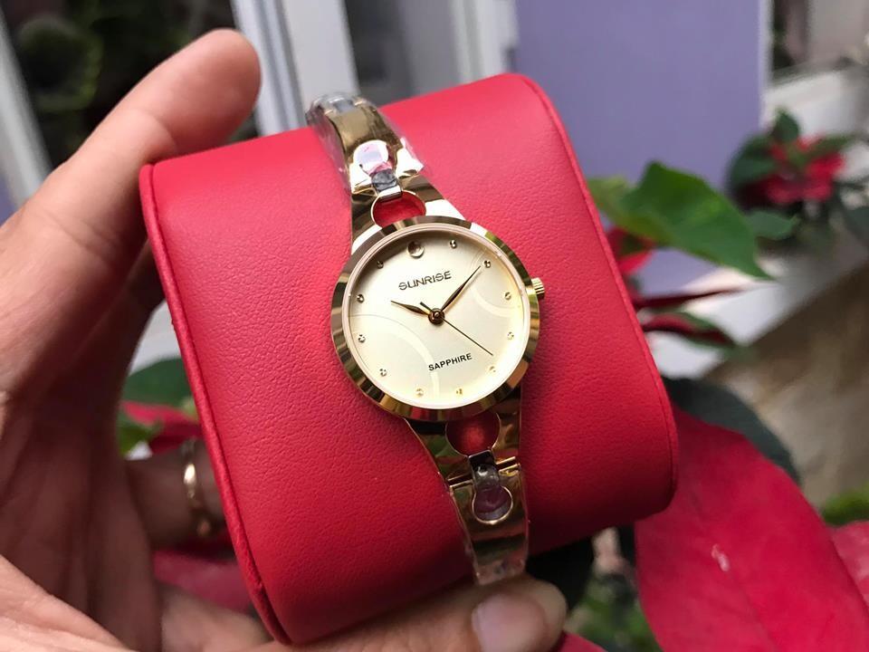 Đồng hồ lắc nữ sunrise sl725swa - kv chính hãng