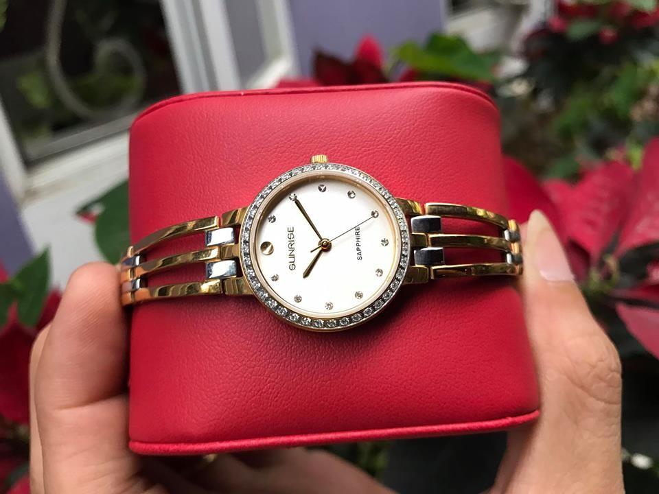 Đồng hồ lắc nữ sunrise sl728sxa - kt chính hãng