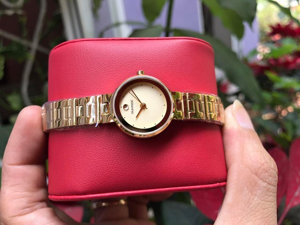 đồng hồ lắc nữ sunrise 9929sa