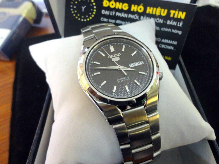 Đồng hồ nam tự động chính hãng Seiko 5 Snk605k1