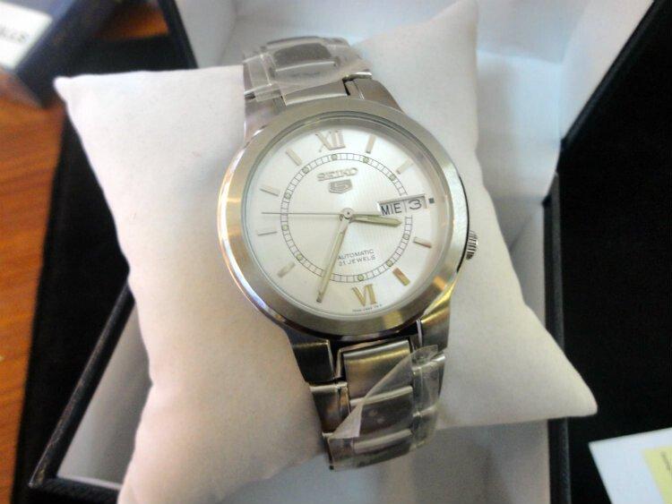 Đồng hồ nam tự động chính hãng Seiko 5 snka19k1