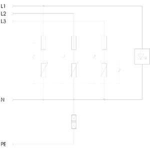 Chống Sét Lan Truyền OBO V10 COMPACT 255