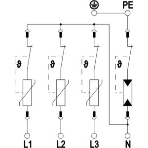 Chống sét lan truyền OBO V20-C3+NPE-385