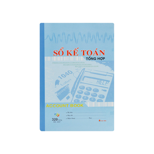Sổ kế toán tổng hợp 300 trang