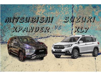 So sánh Mitsubishi Xpander và Suzuki XL7, hơn 600 triệu bạn chọn dòng xe 7 chỗ nào?