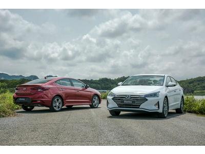 So sánh nhanh các phiên bản Hyundai Elantra 2020