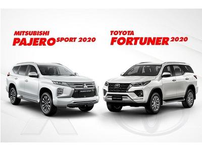So sánh Pajero Sport 2020 và Toyota Fortuner 2020, 1,4 tỷ nên chọn SUV Nhật Bản nào?