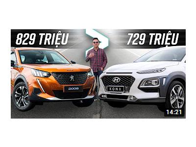 So sánh sự khách nhau giữa Peugeot 2008 , Huyndai Kona và Toyota Cross
