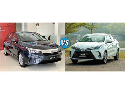 So sánh Toyota Vios G và Honda City L: chọn thực dụng hay xu hướng?