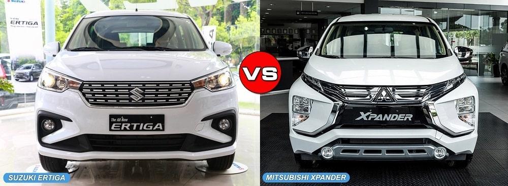So sánh đánh giá xe XPander và Ertiga Sport