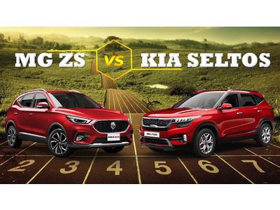 So sánh xe MG ZS 2021 và Kia Seltos 2021: Lựa chọn nào SUV đô thị nào tầm giá dưới 650 triệu đồng?