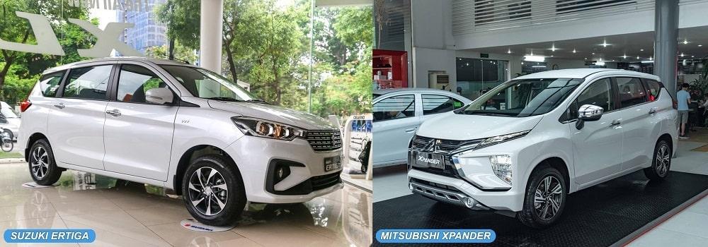 So sánh xe Mitsubishi XPander và Suzuki Ertiga Sport