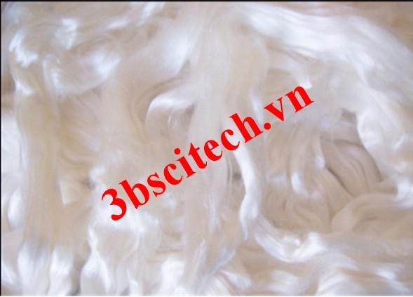 Sợi tơ lụa Silk dưới kính hiển vi