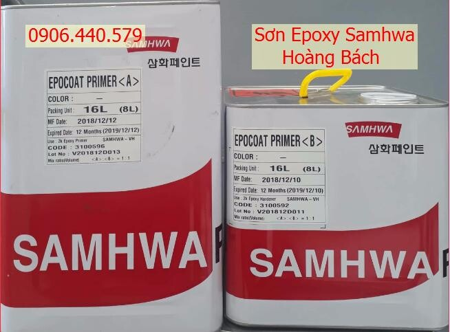 Sơn lót epoxy Samhwa