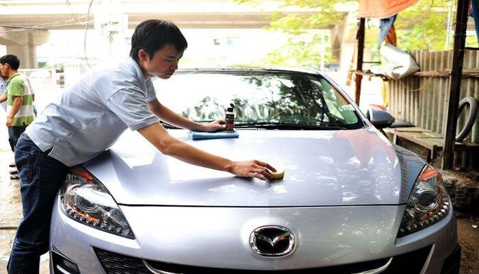 phủ nano ô tô