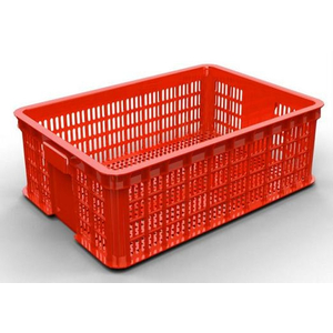 Sóng nhựa công nghiệp đan lưới HS009 610x420x190mm