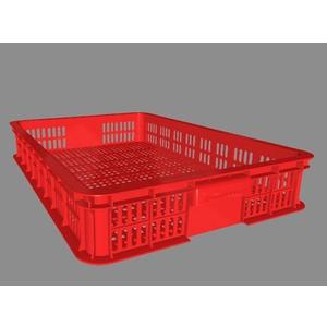 Sóng nhựa công nghiệp HS010 610x420x100mm