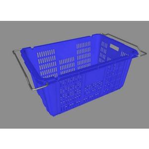 Sóng nhựa công nghiệp quai sắt HS011 715x465x330mm