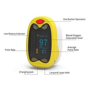 Máy đo nồng độ oxy bão hòa trong máu và nhịp xung K1 (SPO2 trẻ em)