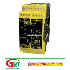 SPEEDTRONIC   Comitronic SPEEDTRONIC   Rơ le an toàn   Safety Relay   Comitronic Vietnam