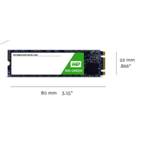 SSD 120gb M2 Sata 2280 WD Green