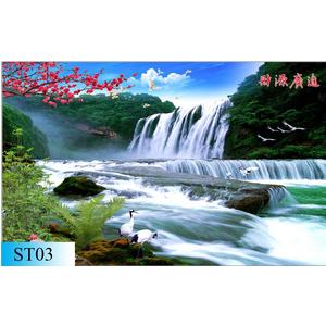 GẠCH 3D ỐP TƯỜNG ST03