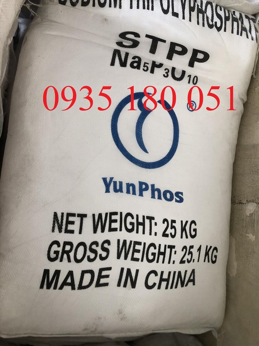 STPP - Sodium tripolyphoshatpe Na5P3O10