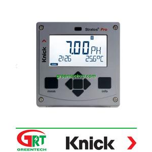 Stratos® Pro | Máy đo PH cố định | Knick VietNam
