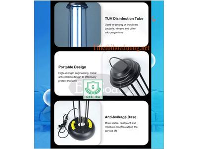 Đèn Khử khuẩn bằng Tia UV tạo môi trường trong lành cho văn phòng , nơi làm việc và sinh hoạt