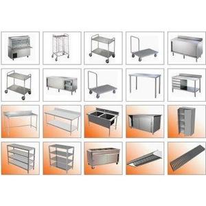 Sửa chữa, làm mới, sản xuất, gia công thiết bị dụng cụ inox các loại trong nhà hàng, khách sạn