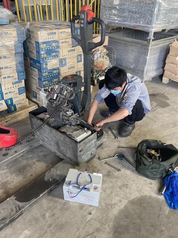 Bảo dưỡng- sửa chữa thay thế phụ tùng xe nâng điện EPT