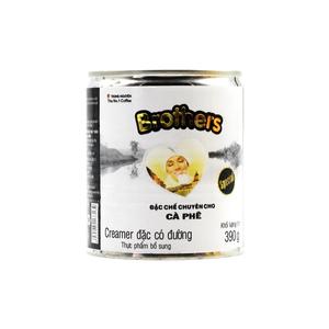 Sữa đặc có đường Brothers 390gr Trung Nguyên