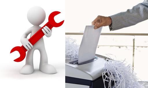 Sửa máy hủy giấy