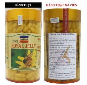 Sữa Ong Chúa Costar Royal Jelly 1450 Mg Tăng cường sức đề kháng,Chữa bệnh suy dinh dưỡng,....