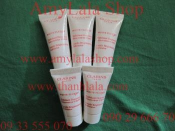 Sữa rửa mặt Clarins White Plus HP Gentle Brightening Exfoliator 5ml - 0902966670 - 0933555070
