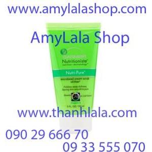 Sữa rửa mặt trắng da Garnier Nutritioniste Microbead Cream Scrub 150ml - 0933555070 - 0902966670 -