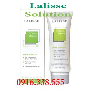Sữa Rửa Mặt Trị Mụn Lalisse Oil-Control Cleanser Giúp rửa sạch vi khuẩn, kiểm soát dầu