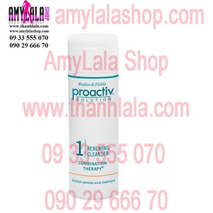 Sữa rửa mặt trị mụn trắng da Proactiv Solution Renewing Cleanser (60ml) - 0933555070 - 0902966670