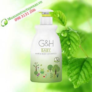 Sữa tắm gội em bé G&H (400ml)