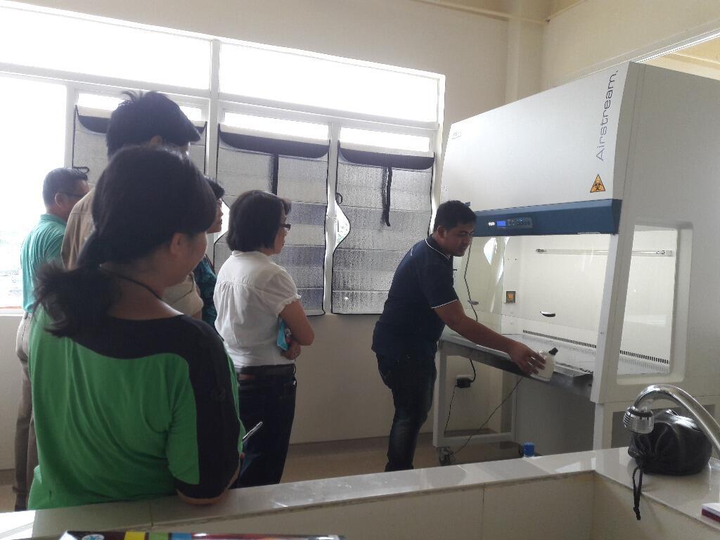 sửa chữa tủ an toàn sinh học cấp 2
