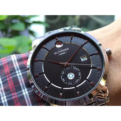 Đồng hồ nam Sunrise 1115sa - mssd chính hãng