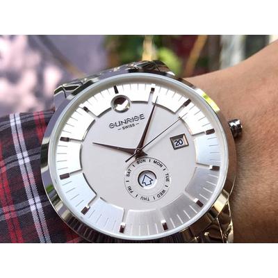 Đồng hồ nam Sunrise 1115sa - msst chính hãng