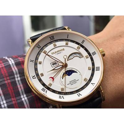 Đồng hồ nam Sunrise 1117pa - mdkt chính hãng