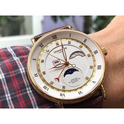 Đồng hồ nam Sunrise 1117pa - mkt chính hãng