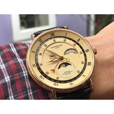 Đồng hồ nam Sunrise 1117pa - mkv chính hãng