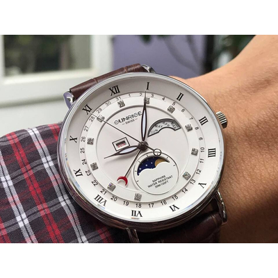 Đồng hồ nam Sunrise 1117pa - mst chính hãng