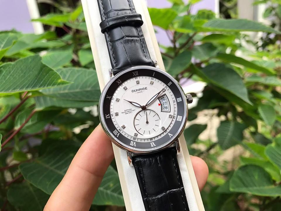 Đồng hồ nam sunrise 1118pa - msdt chính hãng